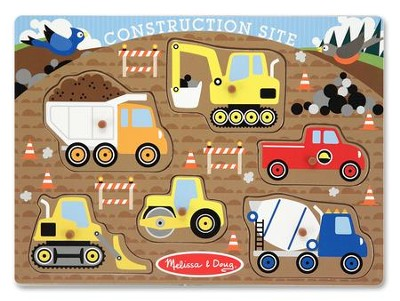 Construction Set Peg Puzzle  -