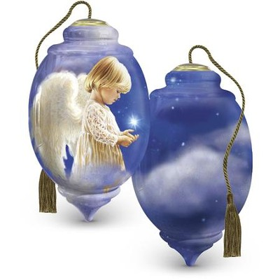 Wishing On A Star Personalized Ornament  -     By: Dona Gelsinger