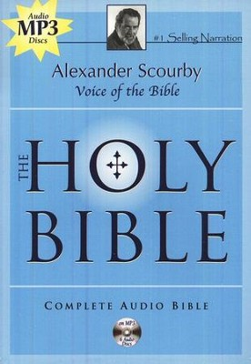 KJV Complete Bible on 6 CD's (MP3)   -     Narrated By: Alexander Scourby