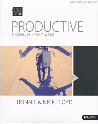 Bible Studies for Life: Productive: Finding Joy in What We Do (DVD Leader Kit)  -     By: Ronnie Floyd