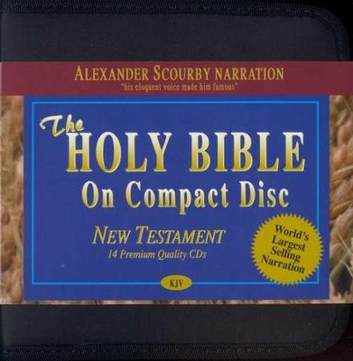 KJV New Testament on CD's   -     Narrated By: Alexander Scourby