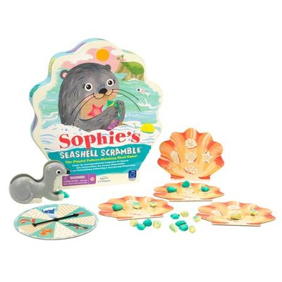 Sophie's Seashell Scramble Game  -