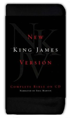 NKJV Complete Bible on CD's   -     Narrated By: Eric Martin     By: Eric Martin