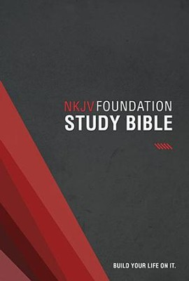 NKJV Foundation Study Bible, hardcover  -