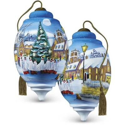 Christmas Choir Glass Ornament  -     By: Sarah Summers