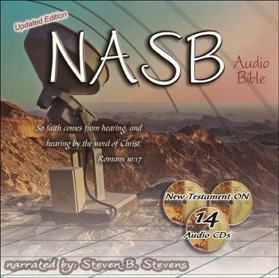 NASB NT Premium Edition In Zipper Case   -     Narrated By: Steven B. Stevens     By: Steven B. Stevens