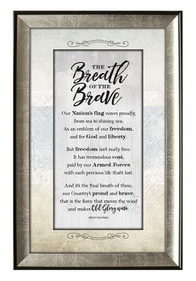 The Breath of the Brave Framed Art  -
