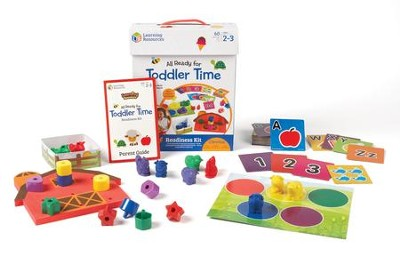 All Ready for Toddler Time Readiness Kit, 60 Pieces  -