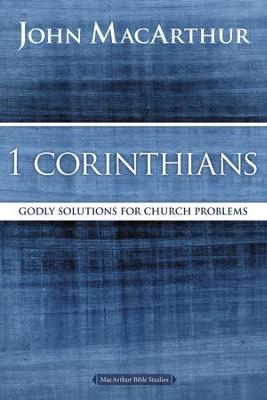 1 Corinthians, John MacArthur Study Guides  -     By: John MacArthur