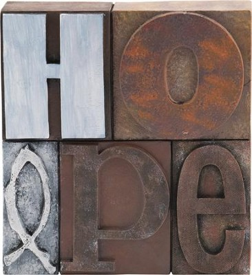 Hope Block Plaque  -