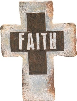Faith Standing Cross  -