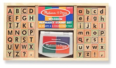 Alphabet Stamp Set   -
