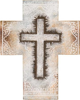 Crown of Thorns Stone Cross  -