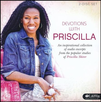 Devotions from Priscilla Shirer: Volume 1 (CD set)  -     By: Priscilla Shirer
