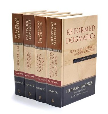 Reformed Dogmatics, 4 Volumes   -     By: Herman Bavinck