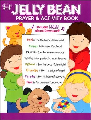 Jelly Bean Prayer & Activity Book   -