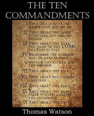 The Ten Commandments [Thomas Watson Jr.]   -     By: Thomas Watson Jr.
