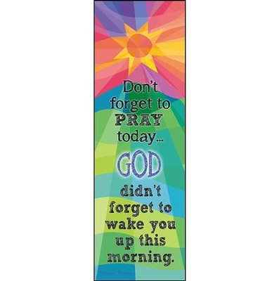 Don't Forget to Pray, Sun, Plaque  -