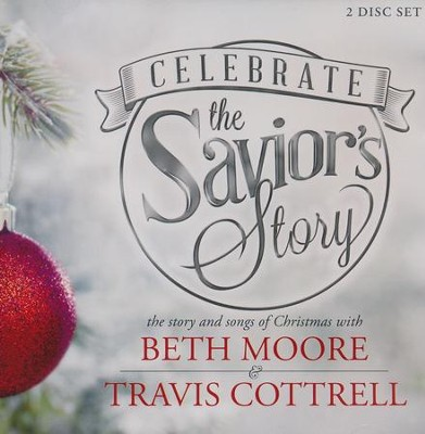 Celebrate the Savior's Story: Christmas CD Set (CD set)  -     By: Beth Moore