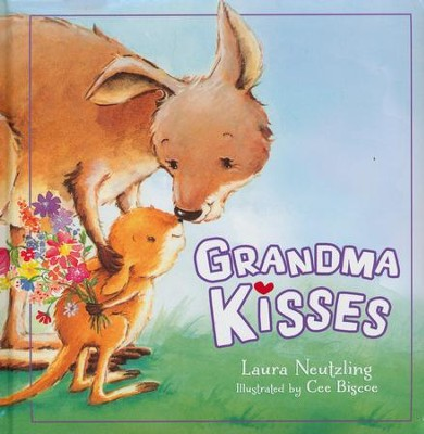 Grandma Kisses Boardbook  -
