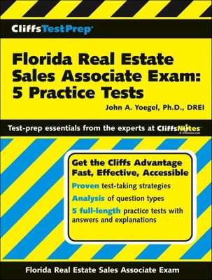 CliffsTestPrep Florida Real Estate Sales Associate Exam: 5 Practice Tests  -     By: John A. Yoegel
