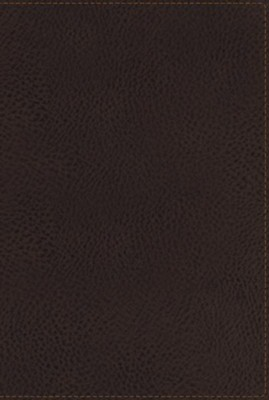 NKJV Giant-Print Personal-Size Reference Bible; Imitation leather Earth brown  -