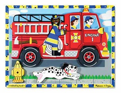 Fire Truck Chunky Puzzle  -
