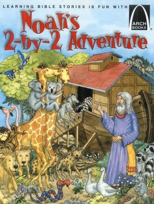 Old Testament Arch Books on CD: Noah's Two-by-Two Adventure and Jonah and the Very Big Fish (2 books and 1 CD)  -