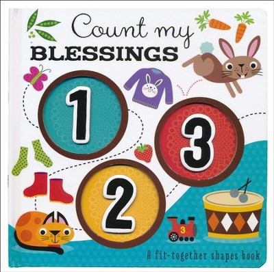 Count My Blessings 1-2-3 Boardbook  -