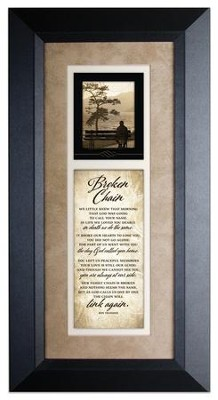 Broken Chain Framed Art  -