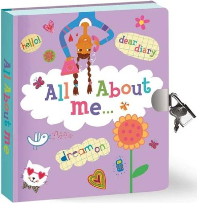 All About Me, Lock and Key Diary  -
