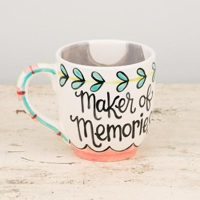 Mom, Maker Of Memories Jumbo Mug  -