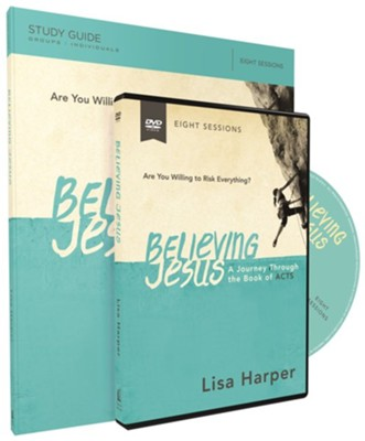Believing Jesus Study Guide with DVD  -     By: Lisa Harper