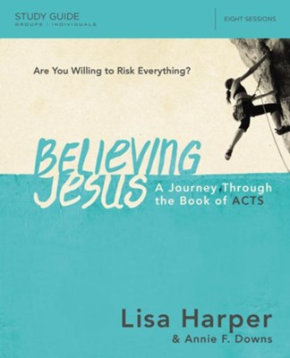 Believing Jesus Study Guide  -     By: Lisa Harper