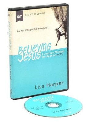 Believing Jesus: A DVD Study  -     By: Lisa Harper