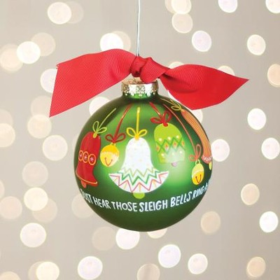 Sleigh Bells Ring Ornament  -