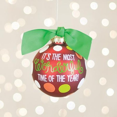 Wonderful Time of the Year Ornament  -