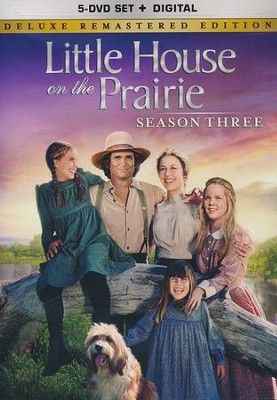 Little House on the Prairie: Season 3 - Deluxe Remastered Edition, 5-DVD Set/Digital  -