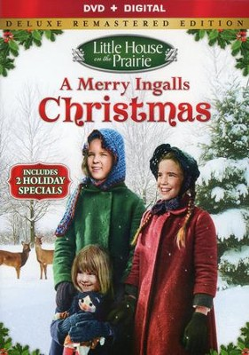 Little House on the Prairie: A Merry Ingalls Christmas,  Deluxe Remastered Edition - DVD/Digital Ultraviolet  -
