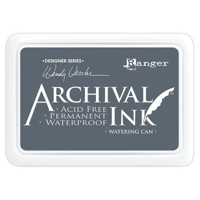 Archival Ink Pad - Watering Can  -