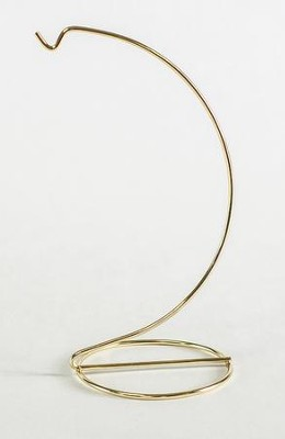 Decorative Ornament Stand, Brass, Small  -