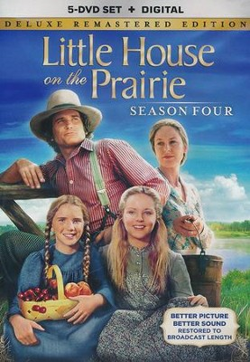 Little House on the Prairie: Season 4, DVD--Deluxe Remastered Edition  -