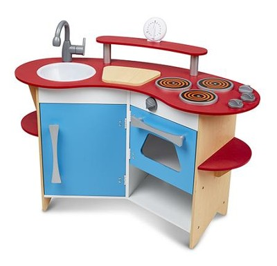 Cook's Corner Wooden Kitchen  -