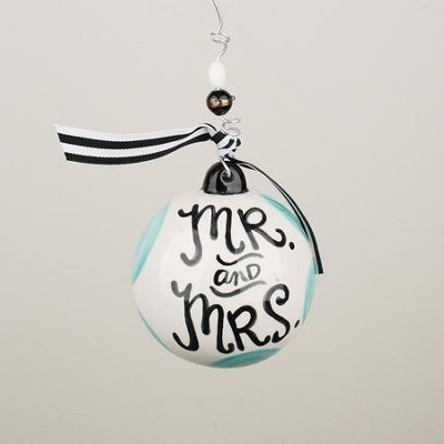 Mr & Mrs Ball Ornament  -