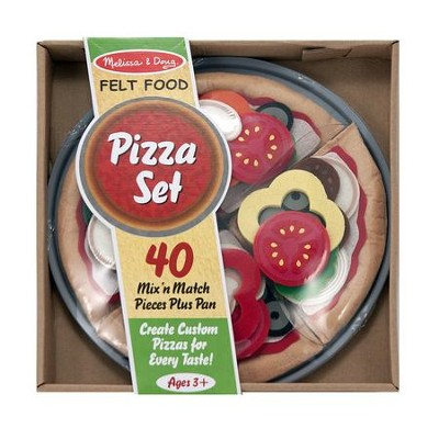 Felt Food Pizza Set  -