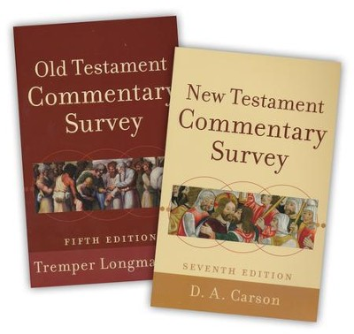 Old Testmant and New Testament Commentary Survey, 2-Pack  -     By: Tremper Longman III