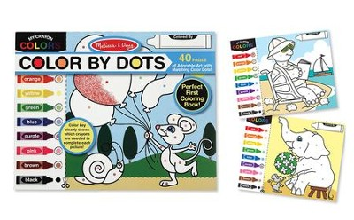 Color by Dots Coloring Book  -