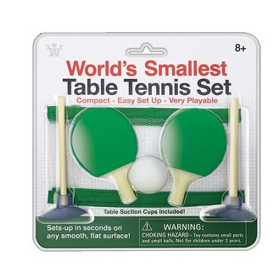 World's Smallest Table Tennis  -