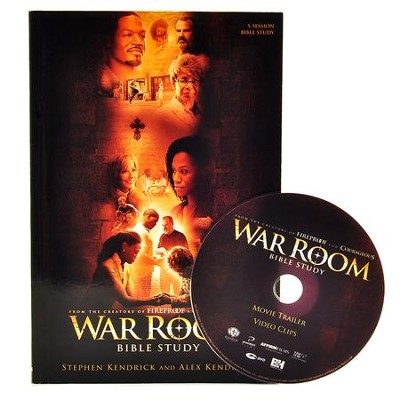 War Room Bible Study Guide & DVD  -     By: Stephen Kendrick, Alex Kendrick
