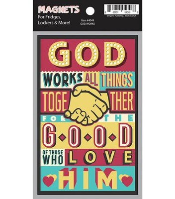 God Works Magnet  -